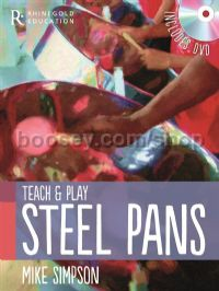 Teach And Play Steel Pans (Book & DVD)