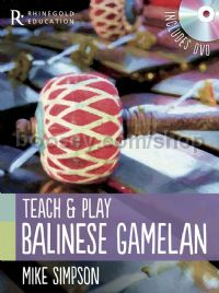 Teach And Play Balinese Gamelan (Book & DVD)