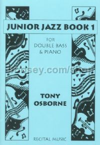 Junior Jazz Book 1 - Double Bass & Piano