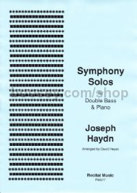 Symphony Solos for double bass & piano