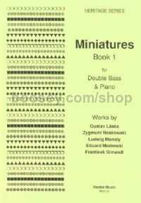 Miniatures, Book 1 for double bass & piano
