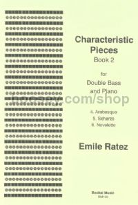 Characteristic Pieces Book 2 for double bass & piano