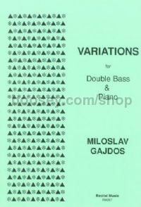 Variations for Double Bass & Piano