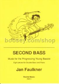 Second Bass: 8 Pieces for Double Bass & Piano