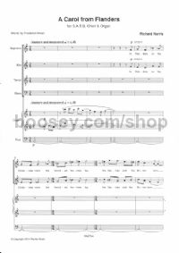 A Carol from Flanders - SATB & Organ