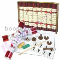 8 x Christmas Crackers Musical Set