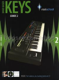 Rockschool Band Based Keys Grade 2 (Book & CD)