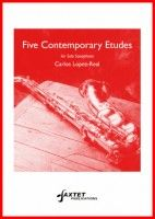 Five Contemporary Etudes for saxophone solo