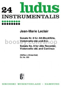Sonate Nr. 8 (Set of Parts)