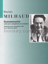 Scaramouche Op. 165c - alto saxophone & piano reduction
