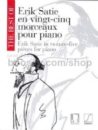 The Best of Erik Satie in 25 pieces for piano (Vol. 1)