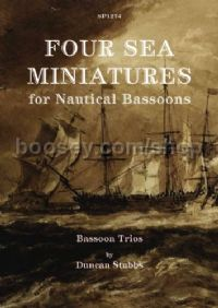 Four Sea Miniatures - for Nautical Bassoons: Bassoon Trios