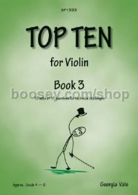 Top Ten for Violin Book 3