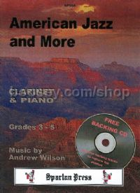 American Jazz and More for Clarinet & Piano (+ CD)