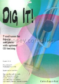 Dig It! for Flute(s) and Piano (+ CD)