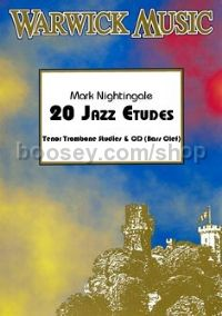 20 Jazz Etudes - Tenor Trombone (bass clef) (+ CD)