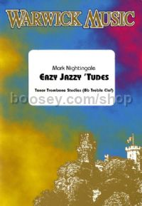 Easy Jazzy 'Tudes for Trombone (Treble Clef)