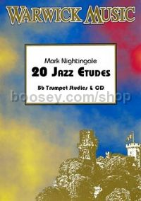 20 Jazz Etudes - Tenor Trombone (treble clef) (+ CD)