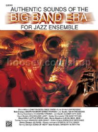 Authentic Sounds of the Big Band Era for Jazz Ensemble - Guitar