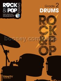 Rock & Pop Exams: Drums - Grade 2