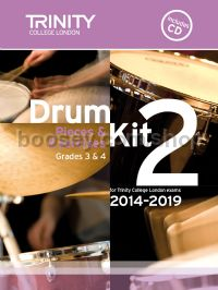 Drum Kit 2 (Grades 3 & 4) with CD 2014-2019