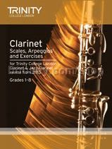 Clarinet & Jazz Clarinet Scales, Arpeggios & Exercises from 2015
