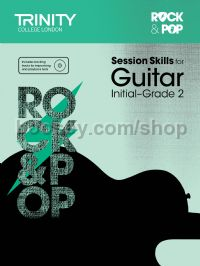 Rock & Pop Session Skills for Guitar, Initial–Grade 2 (+ CD)