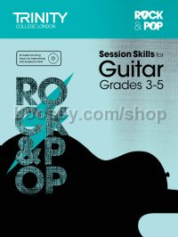 Rock & Pop Session Skills for Guitar, Grades 3–5 (+ CD)