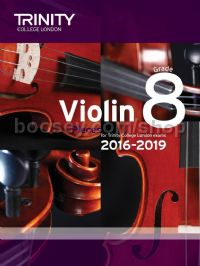 Violin Exam Pieces Grade 8, 2016-2019 (score & part)
