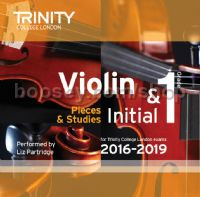 Violin CD only, Initial & Grade 1, 2016-2019