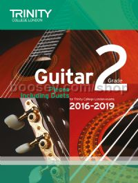 Guitar Exam Pieces Grade 2 2016-2019