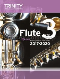 Flute Exam Pieces Grade 3, 2017–2020 (score & part)