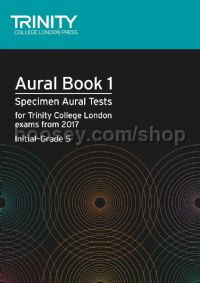 Aural Tests Book 1, from 2017 (Initial–Grade 5) (+ 2 CDs)
