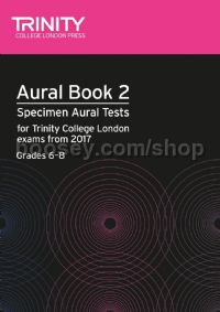 Aural Tests Book 2, from 2017 (Grades 6–8) (+ 2 CDs)