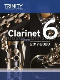 Clarinet Exam Pieces Grade 6, 2017–2020 (score & part)