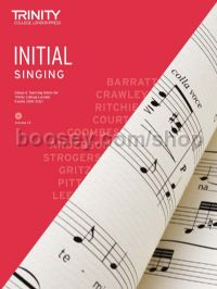 Singing Initial Grade 2018 (with CD & teaching notes)