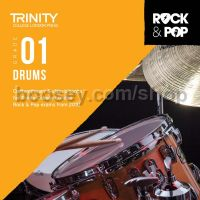 Trinity Rock & Pop 2018 Drums Grade 1 (CD Only)