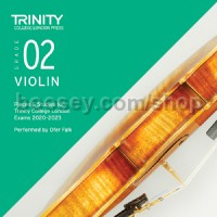 Violin Exam Pieces 2020–2023: Grade 2 CD
