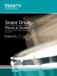 Snare Drum Pieces & Studies, Grades 1-5