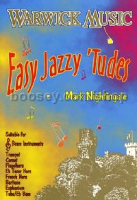 Easy Jazzy 'Tudes (Treble Clef)