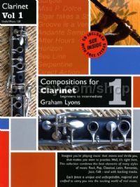 Compositions for Clarinet vol.1: Beginner to Intermediate (Book & CD)