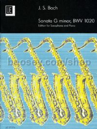 Sonata in G minor BWV 1020 (trans. Harle for Eb/Bb saxophone & piano)