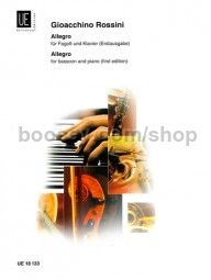 Allegro for bassoon and piano