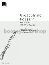 Favourite Pieces From Rossinis Operas (Clarinet Duo)