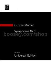 Symphony No.1 in D major 'Titan' (study score)