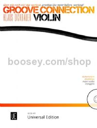 Groove Connection for Violin - major scales and arpeggios (+ CD)