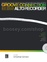 Groove Connection for Alto Recorder - blues scales (+ CD)
