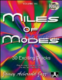 Vol. 116 Miles Of Modes: modal Jazz (Book & 2 CDs) (Jamey Aebersold Jazz Play-along)