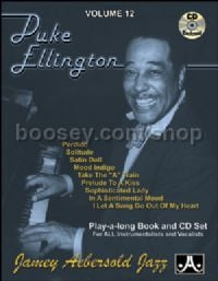 Vol.12 Duke Ellington (Book & CD) (Jamey Aebersold Jazz Play-along)