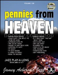 Vol. 130: Pennies From Heaven (Book & CD) (Jamey Aebersold Jazz Play-along)
